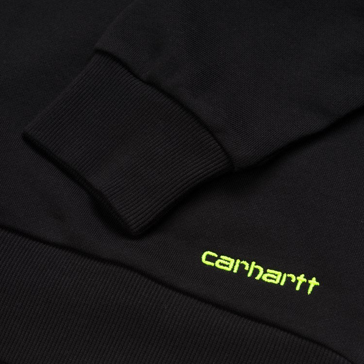 Carhartt Women's Neo Sweat - Black/Lime