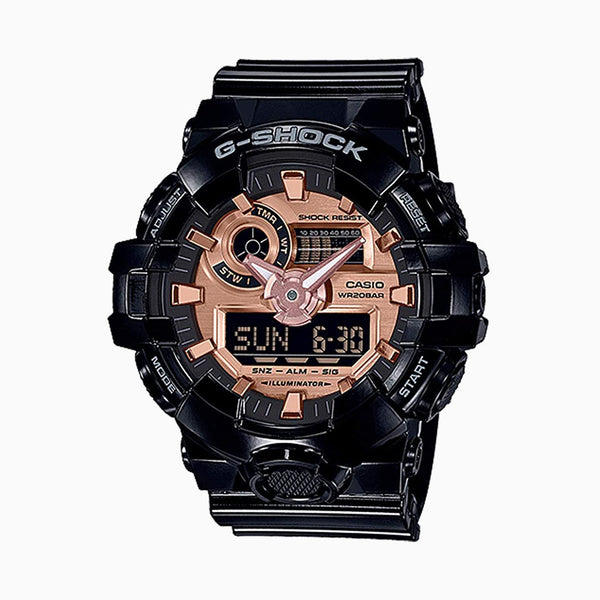 GSHOCK DUO - BLACK/ROSE GOLD