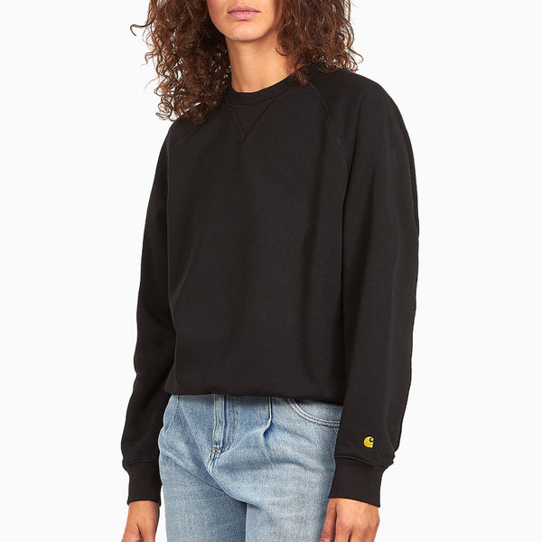 Carhartt W' Chasy Sweat - Black/Gold
