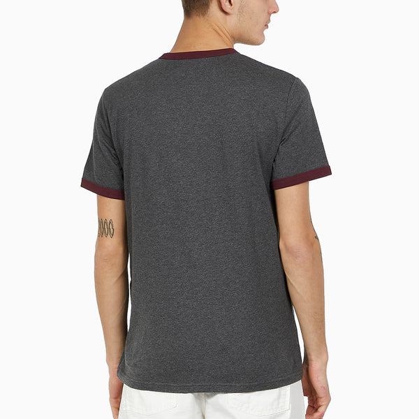 Fred Perry Ringer T-Shirt - Graphite Marl