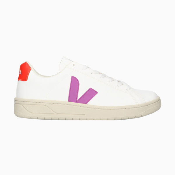 Veja URCA CWL - White/ Ultra Violet/ Orange Fluro