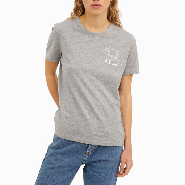 Wood Wood x Disney Aria T-Shirt - Grey Melange