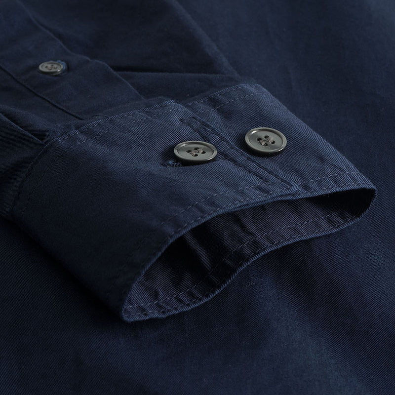Wood Wood Avenir Shirt - Navy