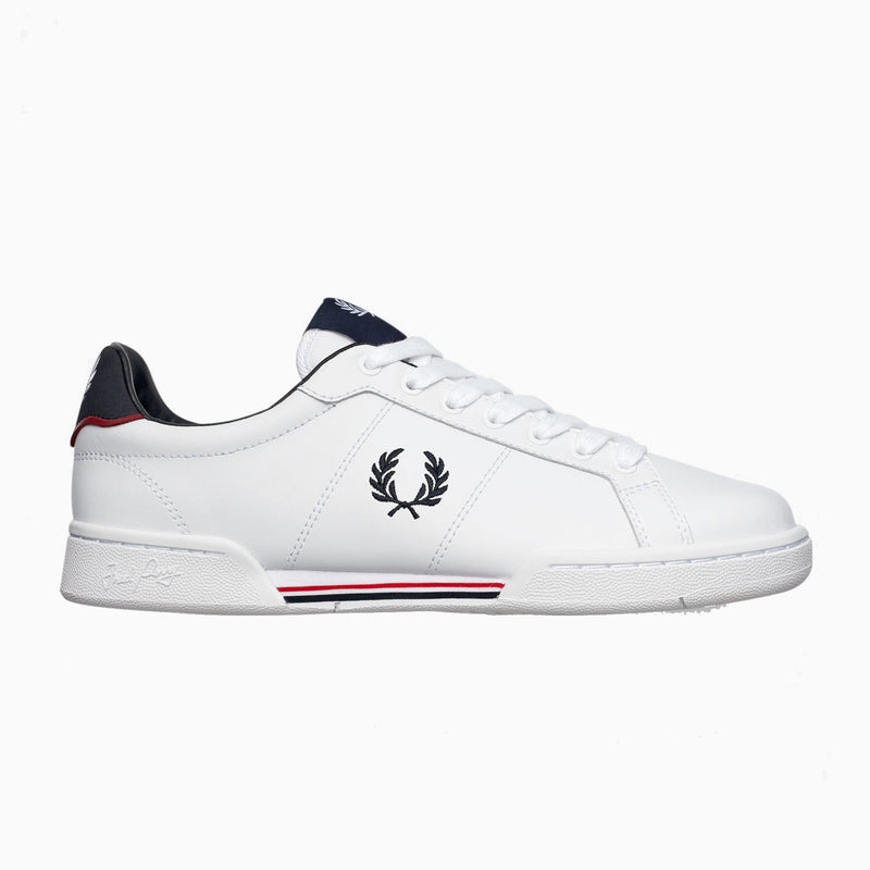 Fred Perry B722 Leather - White
