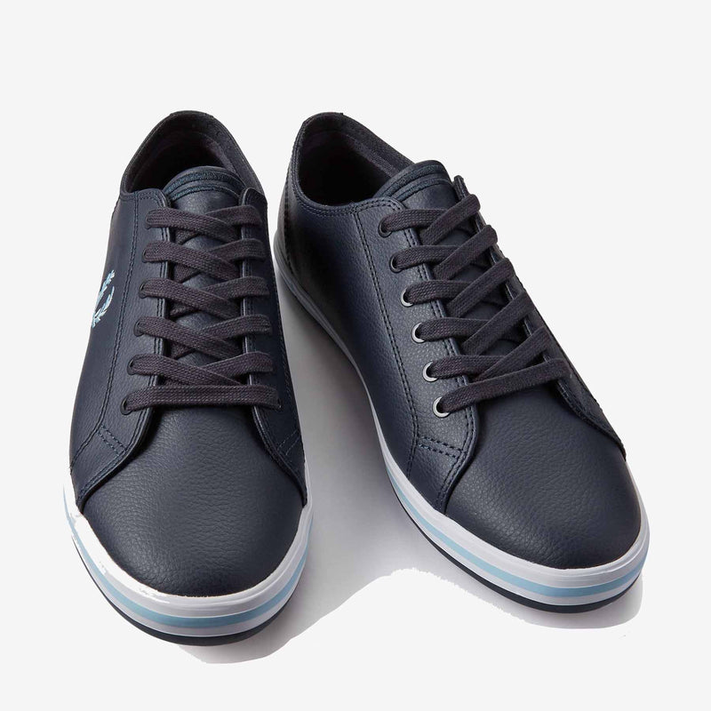 Fred Perry Kingston Leather - Navy
