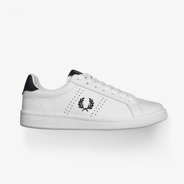Fred Perry B721 Leather - White
