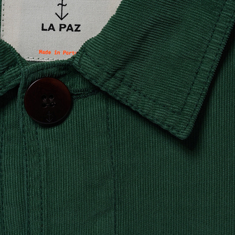 La Paz BAPTISTA 100% Cotton Worker Jacket - Green