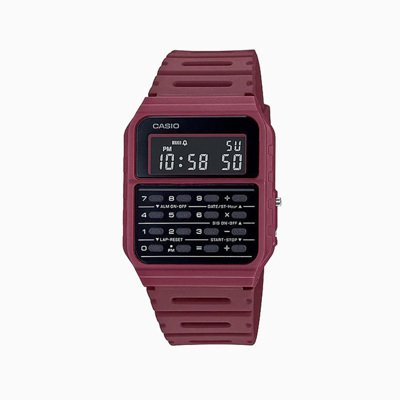 Casio Calculator Watch - Marone