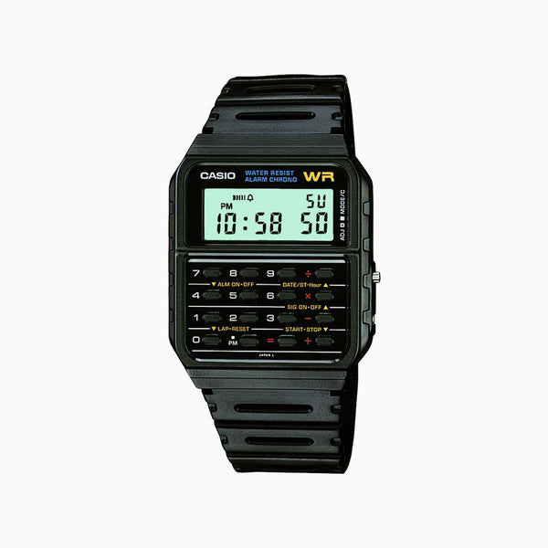 Casio Calculator Watch - Black