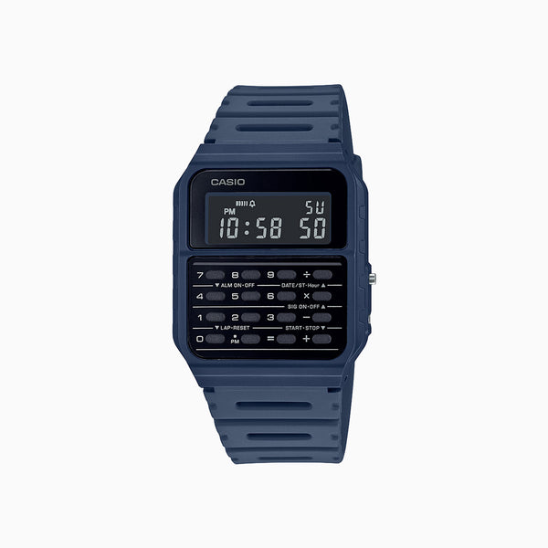 Casio Calculator Watch - Blue
