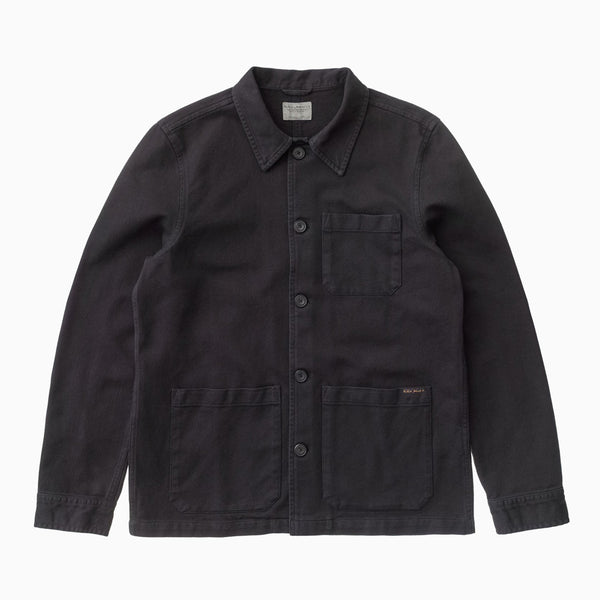 Nudie Barney Worker Jacket - Black