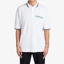 Fred Perry x Beams Twin Tipped Polo Shirt - White