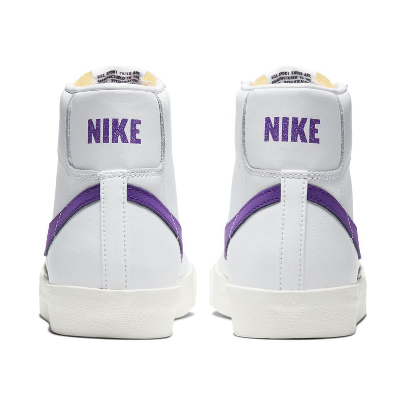 Nike Blazer Mid '77 Vintage - White/Voltage Purple/Sail