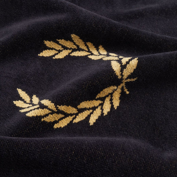 Fred Perry Royal Branded Towel - Black Champagne