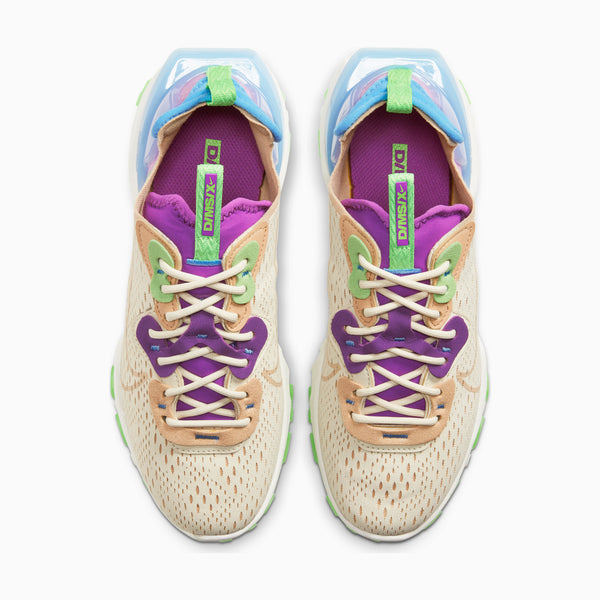 Nike W' React Vision - Fossil/Vivid Purple/Green Strike/Vachetta Tan