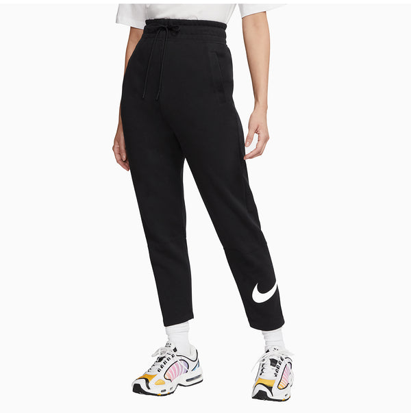 Nike Women's NSW Swoosh Pants Fleece - Black