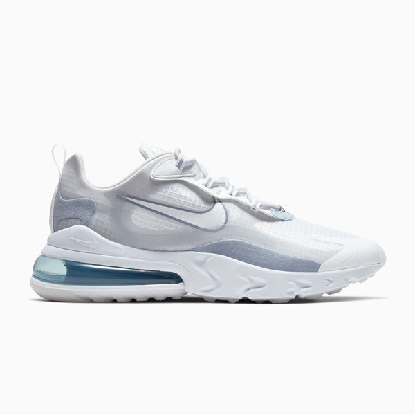 Nike Air Max 270 React SE - White/Pure Platinum/Indigo Fog