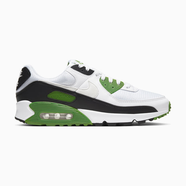 Nike Air Max 90 - White/Chlorophyll/Black