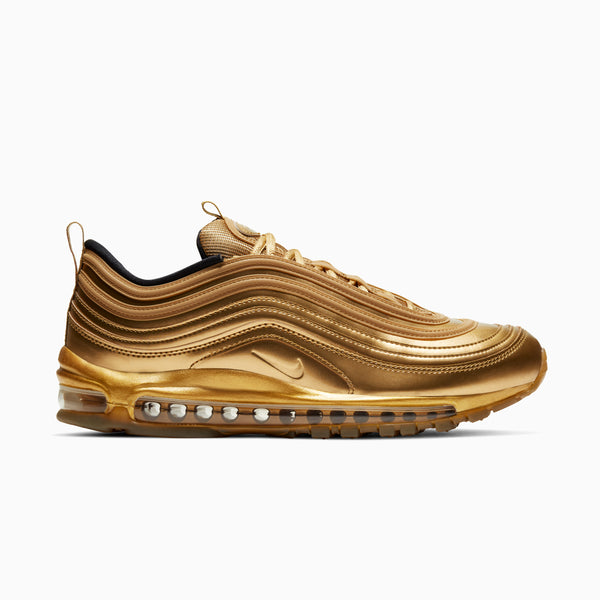 Nike Air Max 97 - Metallic Gold/Black/University Red