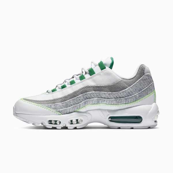 Nike Air Max 95 - White/ Classic Green/ Electric Green