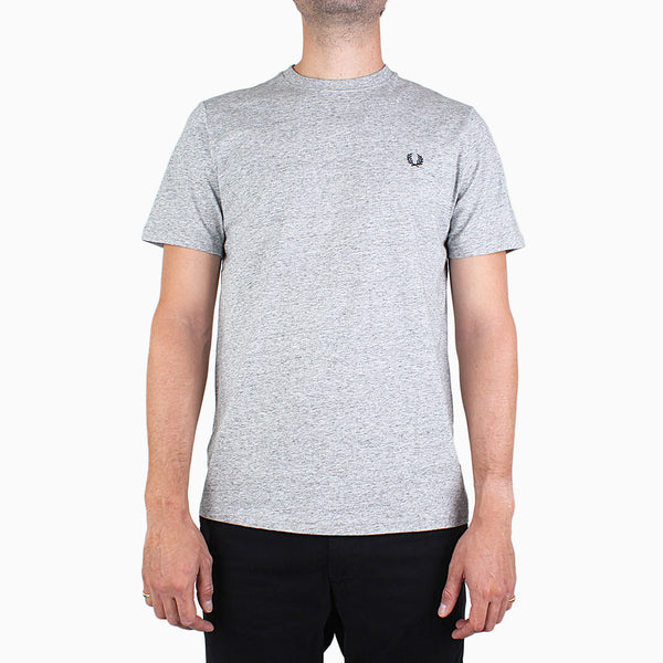 Fred Perry Crew Neck T-Shirt - Steel Marl