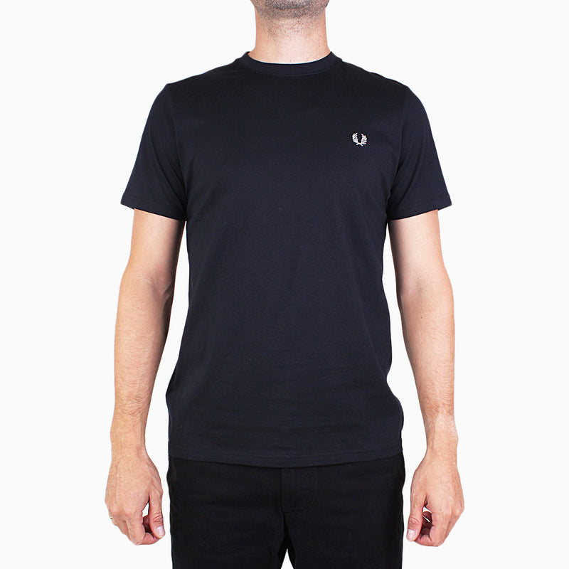 Fred Perry Crew Neck T-Shirt - Navy
