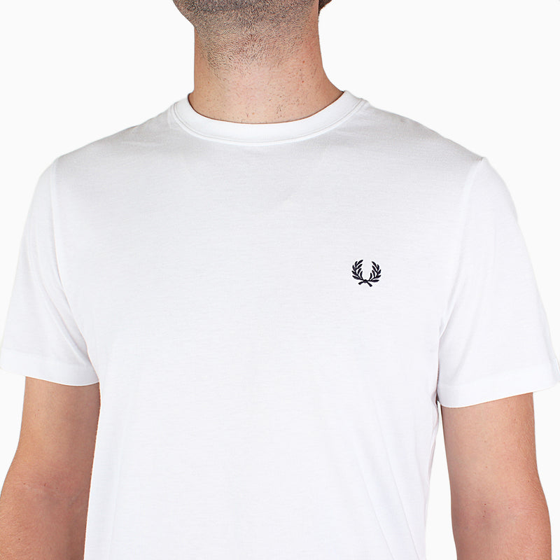Fred Perry Crew Neck T-Shirt - White