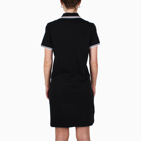 Fred Perry Women's Twin Tipped Shirt Dress - Black/White