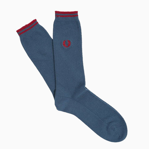 Fred Perry Tipped Socks - Midnight Blue