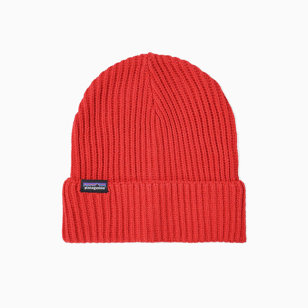 Patagonia Fishermans Rolled Beanie - Rincon Red