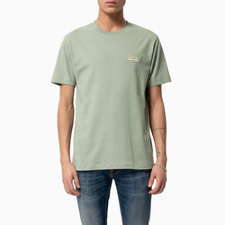 Nudie Daniel Logo Tee - Pale Green