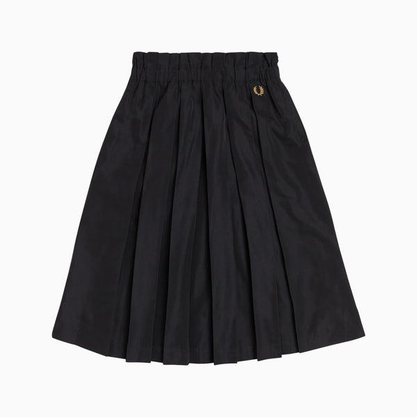 Fred Perry Pleated Skirt - Black