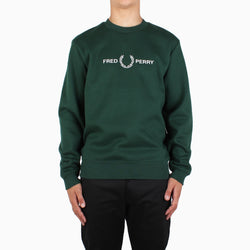 Fred Perry Graphic Sweatshirt - Ivy