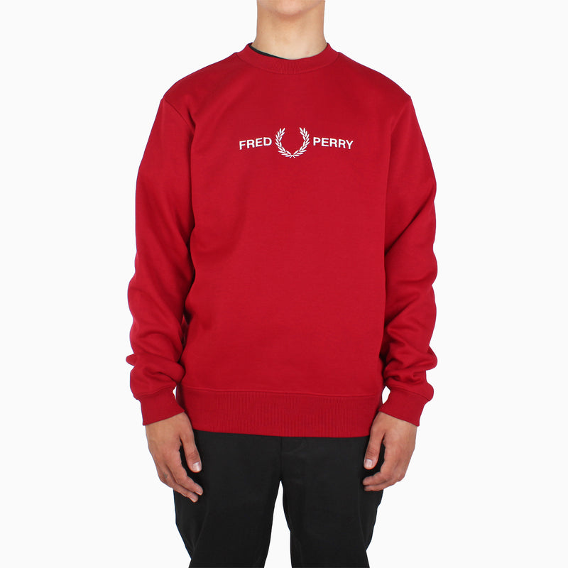 Fred Perry Graphic Sweatshirt - Siren