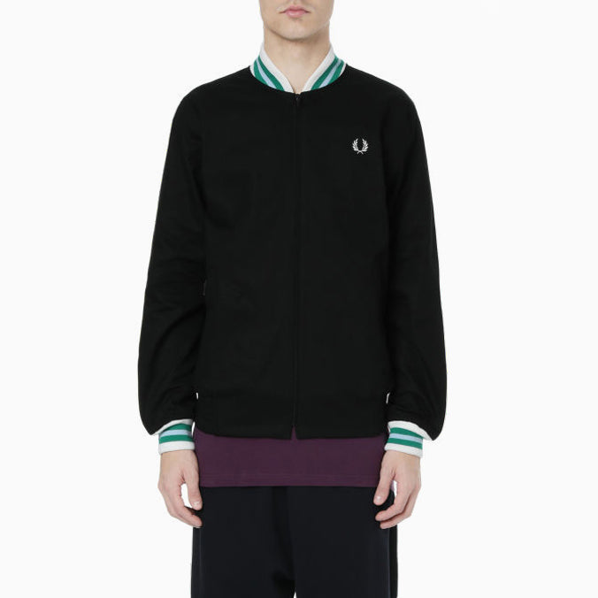 Fred Perry Made In England Bomber Jacket - Black