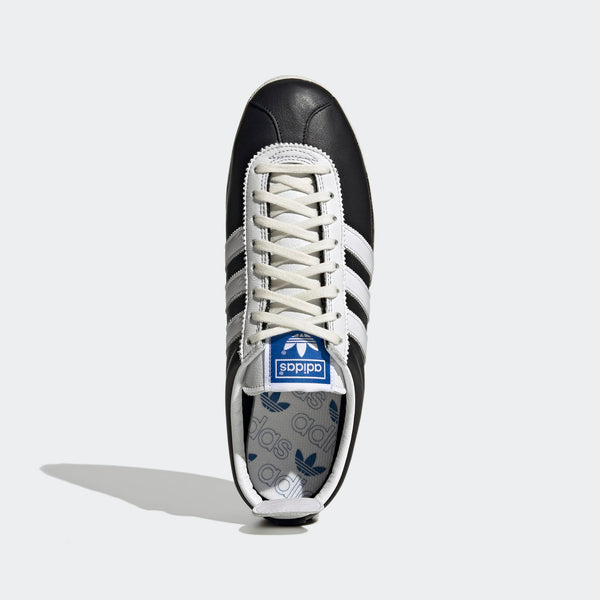 Adidas Gazelle Vintage - Black/ White/ Gold
