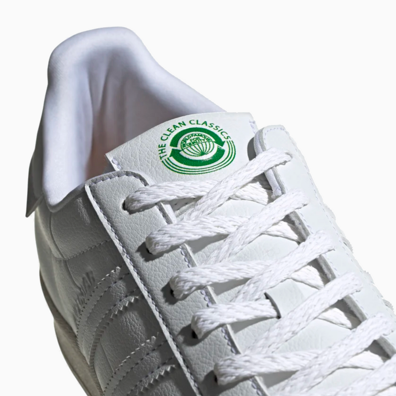 "Adidas Superstar ""Sustainability"" - White/ Off-White/ Green"