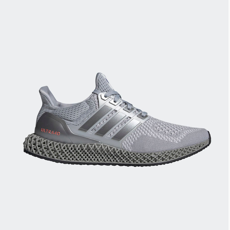 Adidas Ultra4D - Silver/ Solar Red