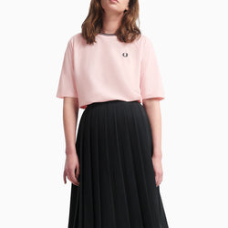 Fred Perry Twin Tipped Pique T-Shirt - Iced Pink
