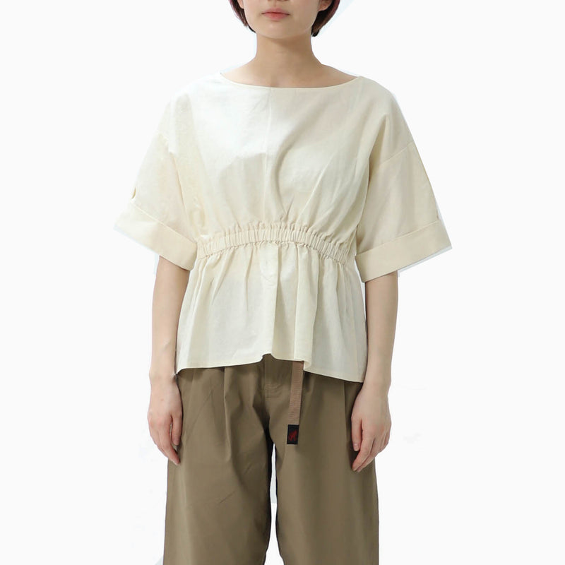 Gramicci Linen 2Way Shirts - Ivory