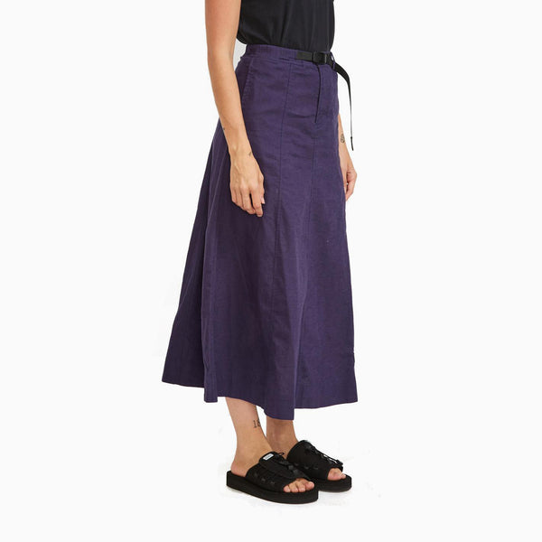 Gramicci Linen Mermaid Skirt - Ink Blue