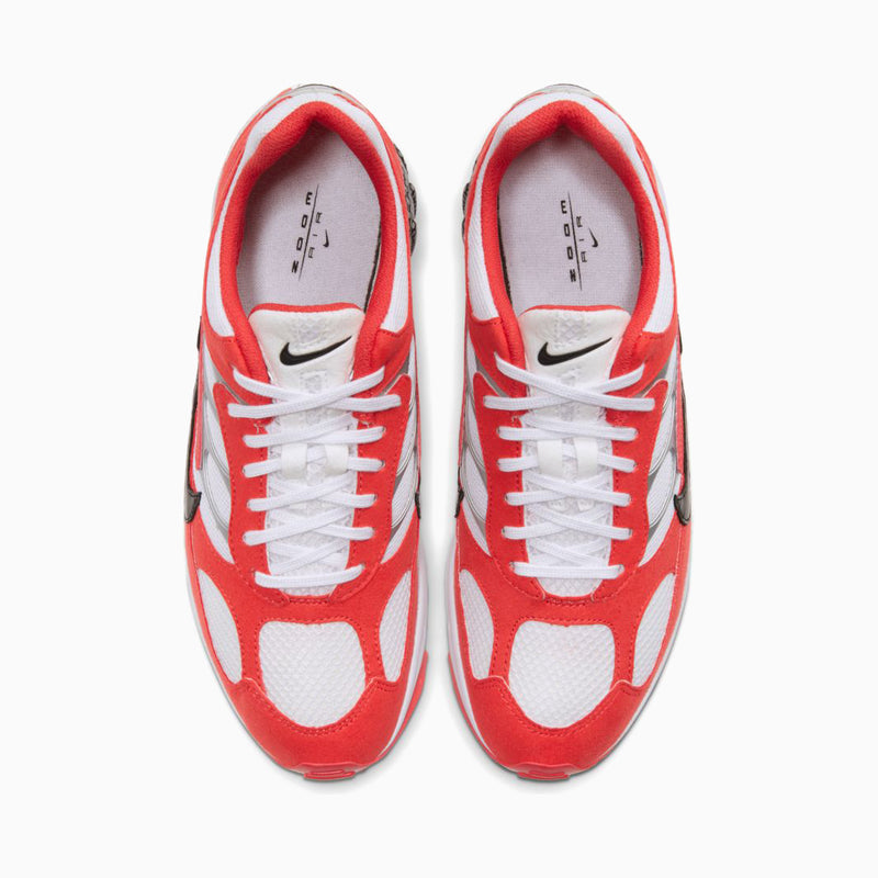 Nike Air Ghost Racer - Track Red/White/Metallic Silver