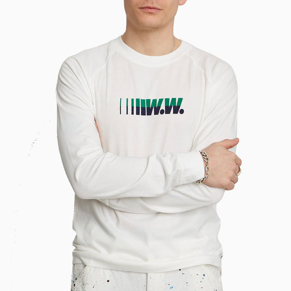 Wood Wood Han Long Sleeve - White