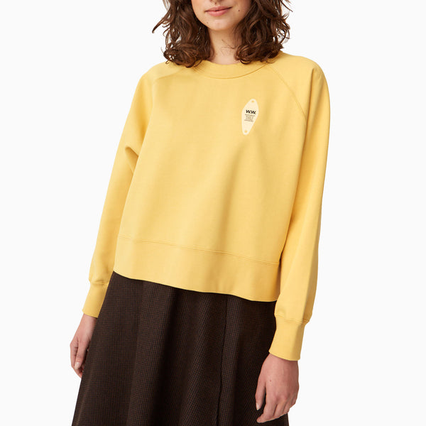 Wood Wood Hope Sweatshirt - Yellow