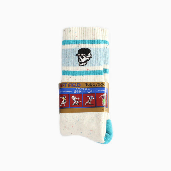 Left Field Jawbreaker Socks - White/Blue