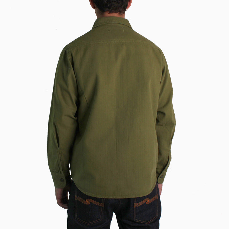 TSPTR Workshirt HBT - Olive