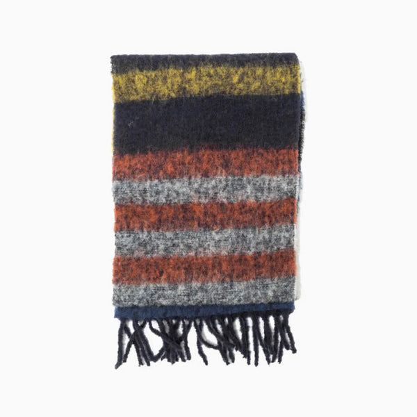 NN07 Scarf Two - Multi Stripe