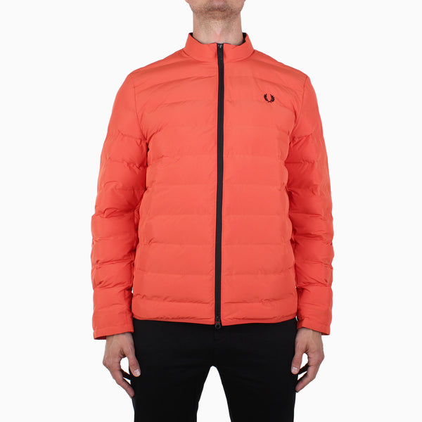 Fred Perry Insulated Jacket - International Orange