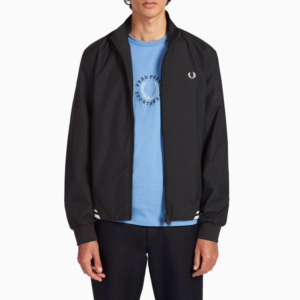 Fred Perry Twin Tipped Sports Jacket - Black