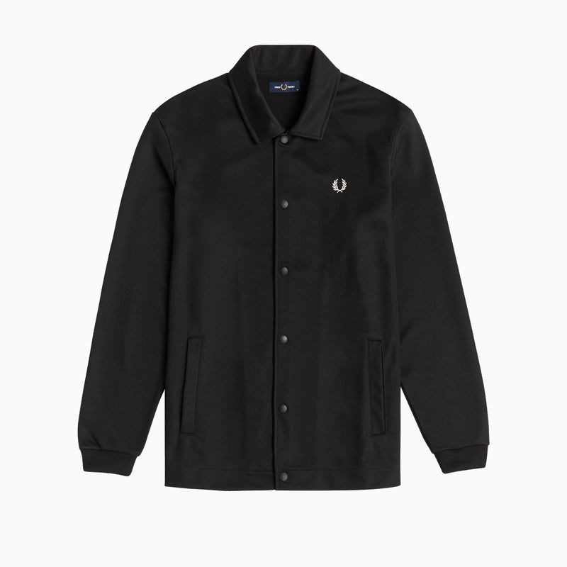 Fred Perry Tricot Coach Jacket - Black